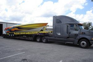 powerboat transport